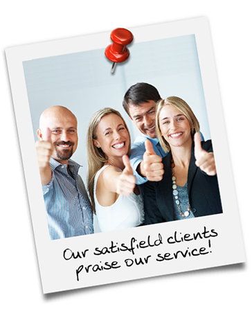 Our satisfied clients praise our services!