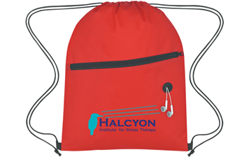 Non-Woven Hit W/ Zipper Sports Pack