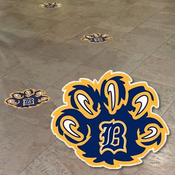 Custom Floor Graphic